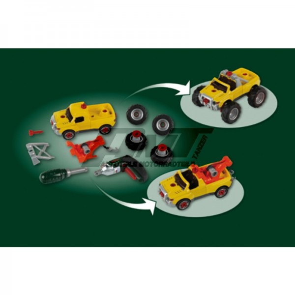 Theo Klein 8168 - Bosch Car Set, 3 in 1, #50781