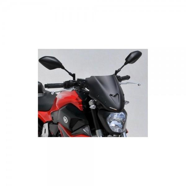 YAMAHA MT 07 ERMAX Scheibe Naked Bike mit ABE schw #3058