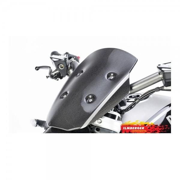 Windschild inkl. Halter glanz Ducati XDi #13296