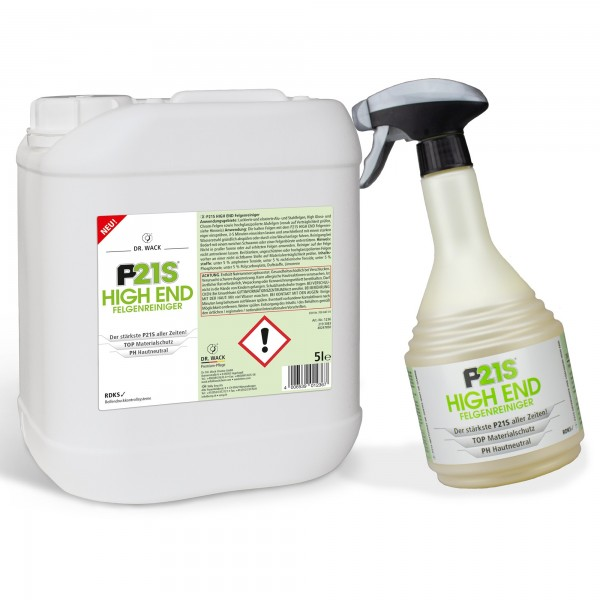P21S HIGH END Felgenreiniger 5 Liter von #99958
