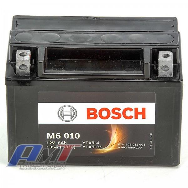 BOSCH YTX9-BS Motorrad Batterie M6 8AH 1 #12605