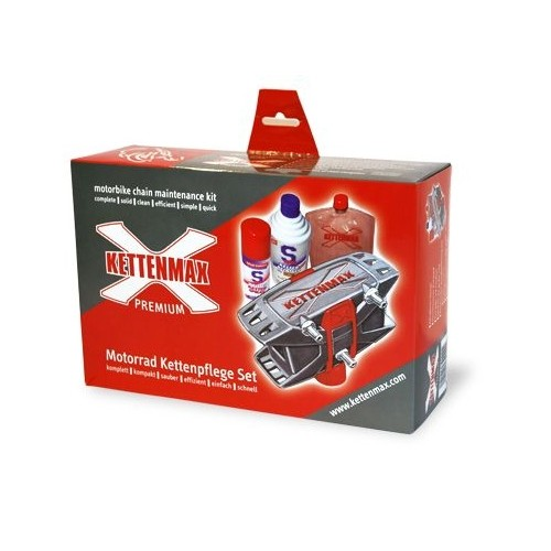 Kettenmax Premium Set - Kettenreiniger & Kettenpfleger
