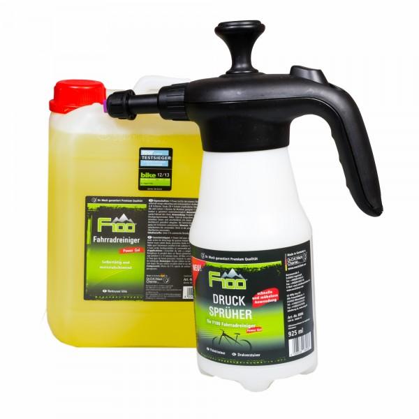 F100 Fahrradreiniger 5 Liter SET Druckpumpzerstäub #76550